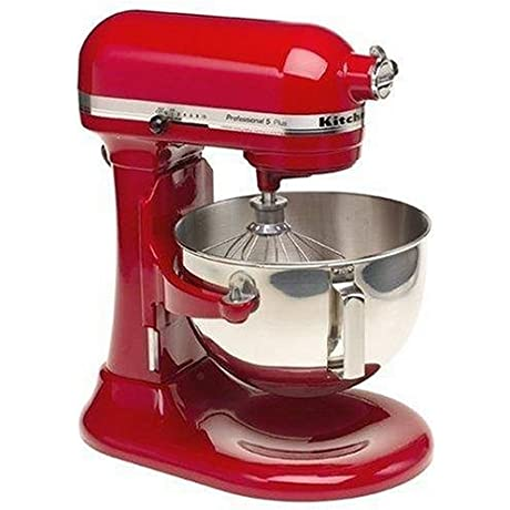 KitchenAid Professional 5 Plus Stand Mixer RKV25G0XER 5 Quart Empire Red Certified Refurbished