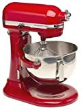 : KitchenAid Professional 5 Plus Stand Mixer RKV25G0XER, 5-Quart, Empire Red, (Certified Refurbished)