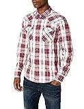 Levi's Men's Barstow Western Casual Shirt, Multicolour (Wildcat Crimson 0279), Medium