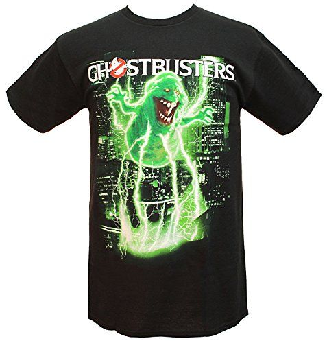 Adults Official Ghostbusters Slimer Slimed T-shirt