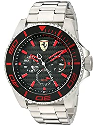 Ferrari Men's 830311 'XX KERS' Quartz Stainless Steel Watch