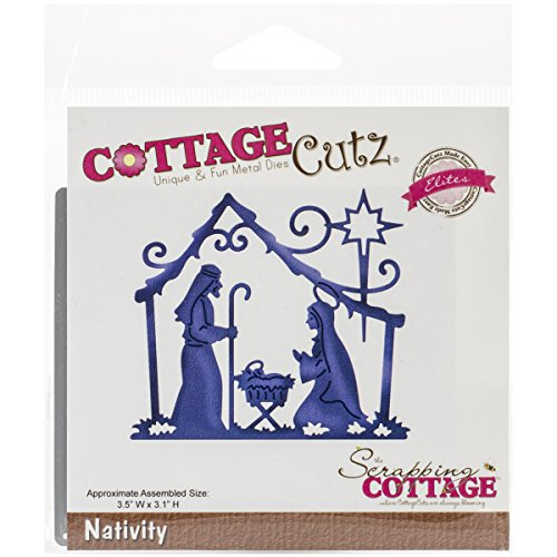 CottageCutz Nativity Elites Die