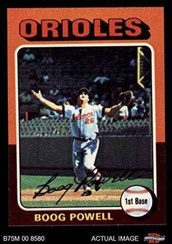 1975 Topps #625 Boog Powell Baltimore Orioles Baseball Card