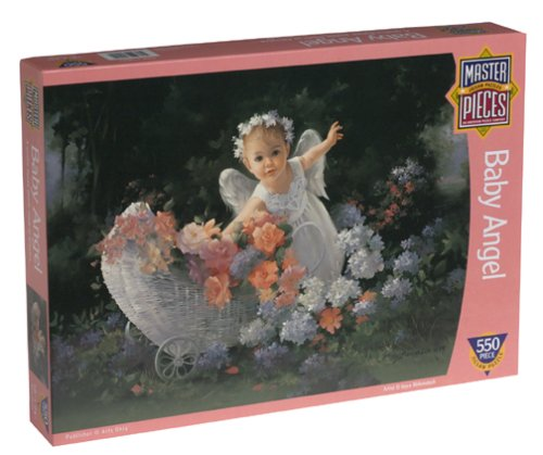 Baby Angel Jigsaw Puzzle 550pc (Masterpieces 550pc Puzzle)