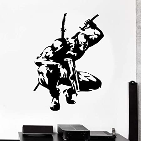 Tatuajes de Pared Pegatinas de superhéroes Marvel Cartoon Wall Art ...