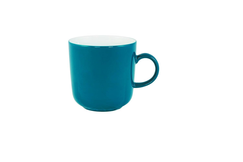 Kaffeetasse Kahla Pronto Colore Kaffeebecher Cappuccinotasse Grün-Blau 300ml