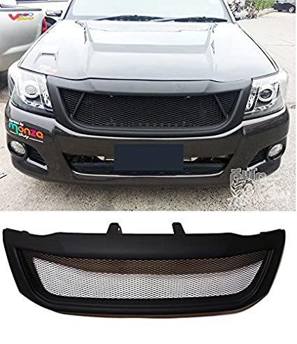 Amazon.com: FRONT GRILL GRILLE BLACK NET FOR TOYOTA HILUX ...