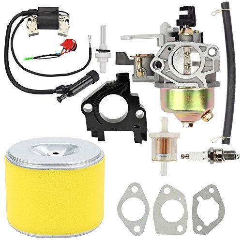 Compact Tractor Loader - Butom GX390 Carburetor with Air Filter Tune Up kit for Honda GX 390 13HP Engine Toro 22308 22330 Dingo TX 413 Compact Utility Loader 16100-ZF6-V01