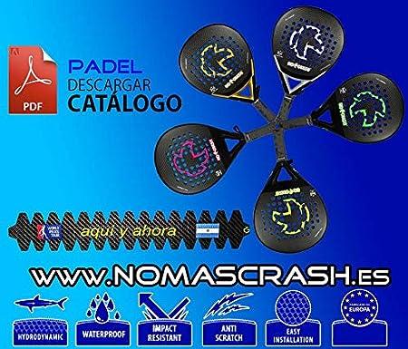 No+Crash Kit XL REPARACIÓN Palas Padel, Surf, Bicicletas ETC - 15CM Carbon Repair Kit + Resin and Gloves: Amazon.es: Deportes y aire libre