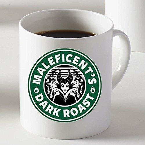 Starbucks Inspired Maleficent Sleeping Beauty Coffee Mug Two - Diy Maleficent