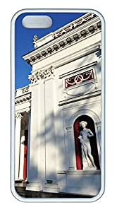 iPhone 5s Cases & Covers - Free Old Exchange Building Custom TPU Soft Case Cover Protector for iPhone 5s - White