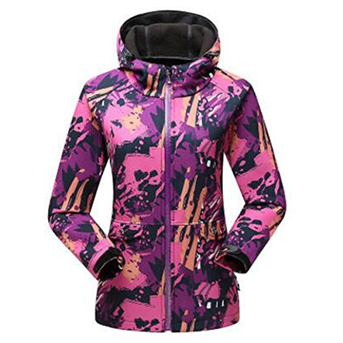 Trench Giacche Camouflage Rosered Travel Outdoor Sottile Giacca Pile In Femminile Softshell Spring zxFTF5qwPn