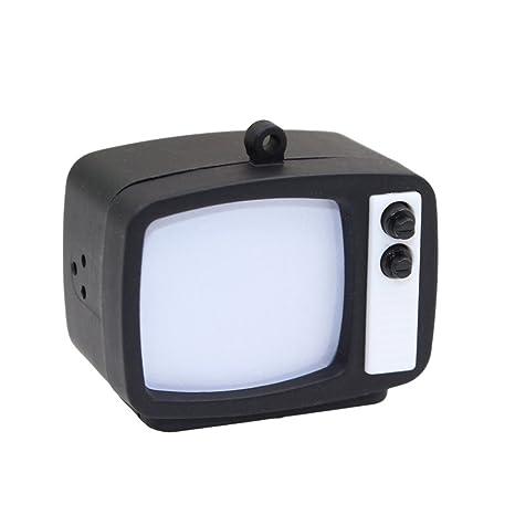 Amazon.com: Lindo TV televisión LED luz con sonido llavero ...