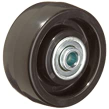 RWM Casters POB-0312-06 3-Inch Diameter X 1-1/4-Inch Width Polyolefin Wheel With Ball Bearing, 250-Pounds Capacity
