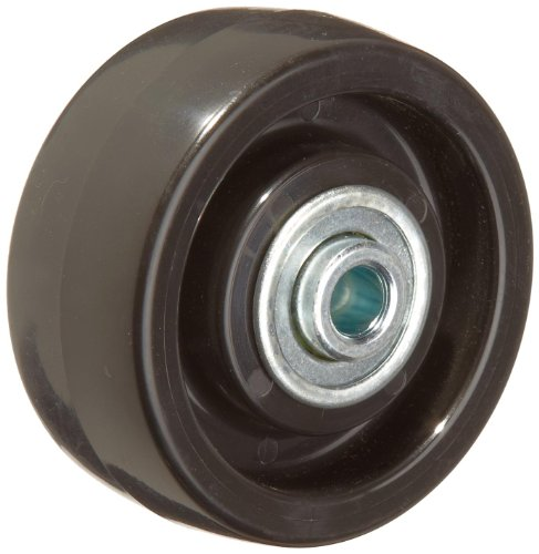 RWM Casters POB-0312-06 3' Diameter X 1-1/4' Width Polyolefin Wheel With Ball Bearing, 250 lbs Capacity