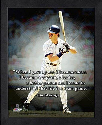 Don Mattingly NY Yankees ProQuotes Photo (Size: 12