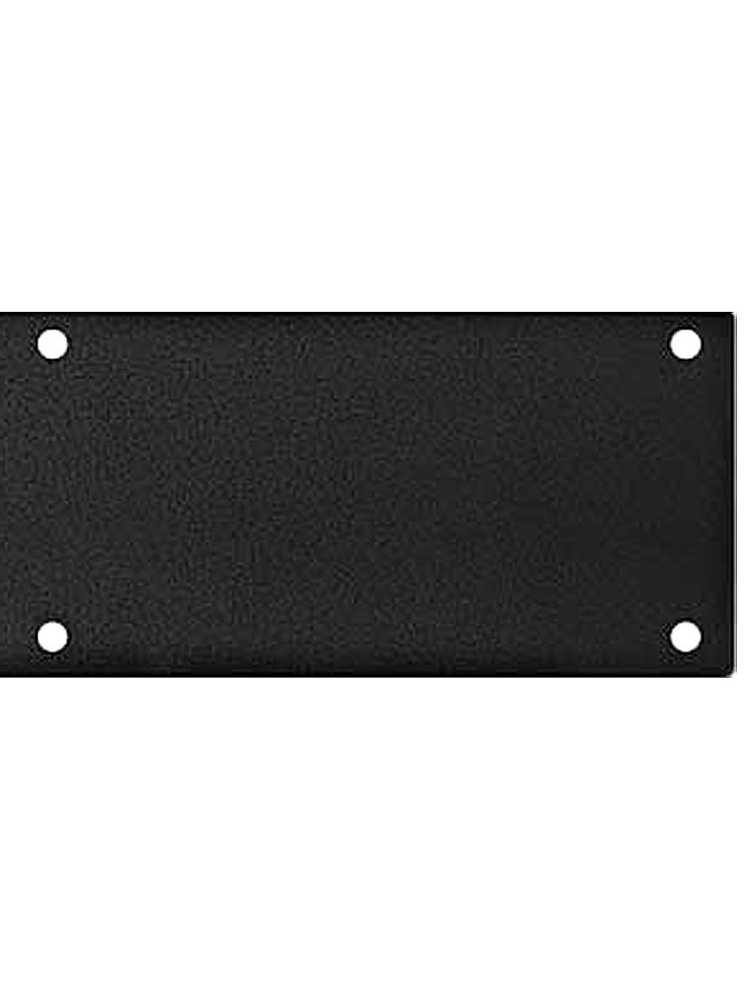 8'' X 34'' Magnetic Mount Weathered Black Finish Steel Kick Plate