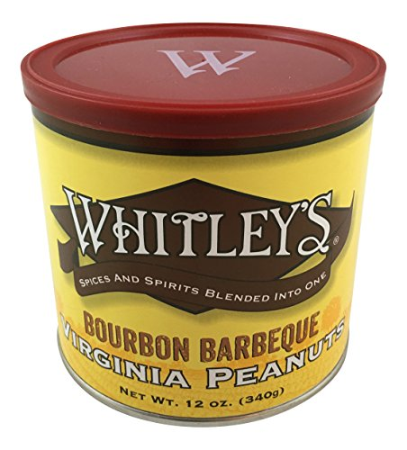 Whitley's Bourbon Barbeque Virginia (Hand Cooked Virginia Peanuts)
