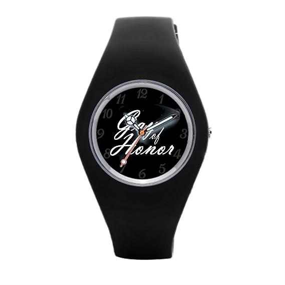 Gay BFF mejor amigo barato Relojes de pulsera. Gay Honor de goma deportes relojes