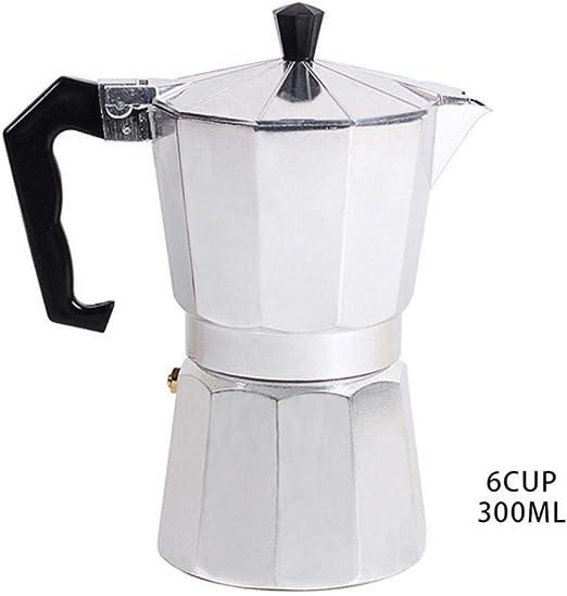 KOIYOI Cafetera Italiana de café exprés de 1 Taza / 3 Tazas / 6 ...