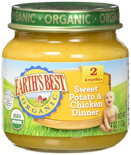 Earths Best Organic Potato Chicken