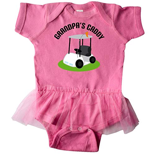 inktastic - Grandpas Caddy Infant Tutu Bodysuit 18 Months Raspberry 10b82