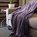 Kingole-Flannel-Fleece-Microfiber-Throw-Blanket-Luxury-Lavender-Purple-Twin-Size-Lightweight-Cozy-Couch-Bed-Super-Soft-and-Warm-Plush-Solid-Color-350GSM-66×90