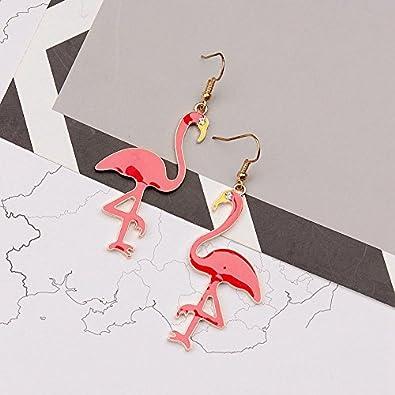 Simple Retro Elegant Long Earrings For Girls CHOA Personality Flower Pearl Asymmetric Long Earrings