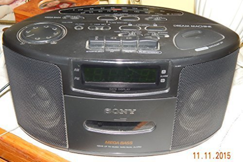 Sony ICFCS660 AM/FM Cassette Clock Radio (Discontinued by Manufacturer)