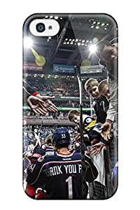 New Style Tpu 4/4s Protective Case Cover/ Iphone Case - Columbus Blue Jackets Hockey Nhl (21)
