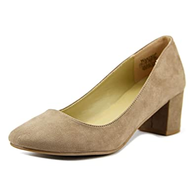 Wanted Shoes Womens Amelia Closed Toe Classic Pumps Beige Size 10.0