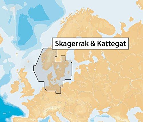 Navionics Plus 45XG Skagerrak & Kattegat Marine & Lake Charts on SD/MSD