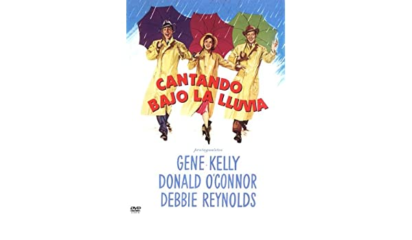 Amazon.com: Cantando Bajo La Lluvia (G.M.) [1952] (Import Movie) (European Format - Zone 2): Movies & TV