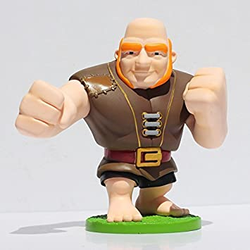 Figura de acción: Clash of Clans Giant Action Figure 5.9 Inch