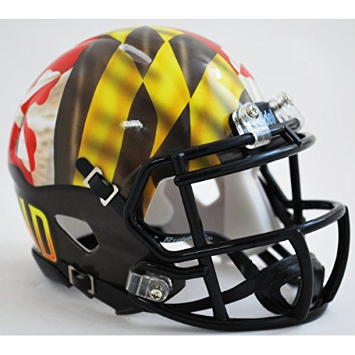 Maryland Terrapins Riddell Football Helmet