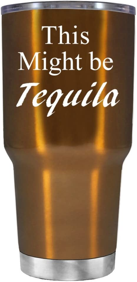 Vasos de Tequila de This Might Be, Acero Inoxidable, Trans Copper ...