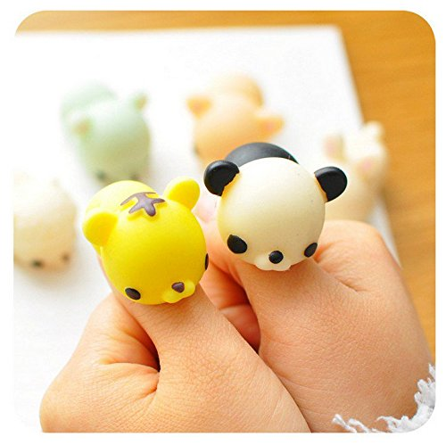 12PCS Mini Squishy Squeeze Stretchy Animal Seals Healing Toys ? Soft Kawaii Cute ? for Kids ...