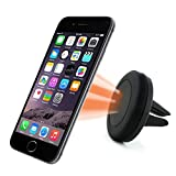 #7: Car Mount, Yoyamo Air Vent Magnetic Car Mount Holder, for Cell Phones and Mini Tablets with Fast Swift-SnapTM Technology, Magnetic Cell Phone Mount