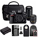 Nikon D7200 DSLR Camera with 18-55mm and 70-300mm Dual Lenses + Holiday Bundle