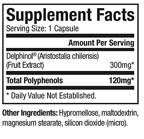Amazon.com: Maqui Berry Extract – 30 Cápsulas: Health ...