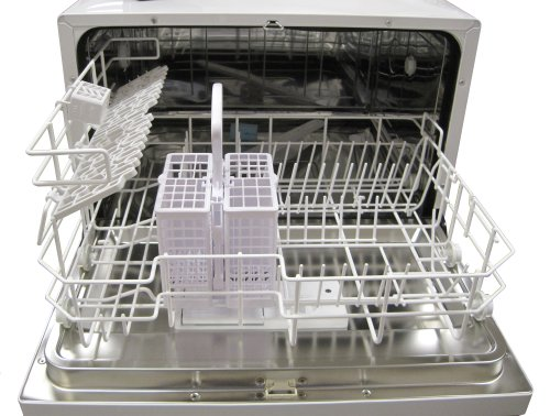 Countertop Dishwasher Dubai : SPT Countertop Dishwasher, White in the UAE. See prices, reviews and ...