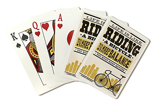 a Bicycle - Screenprint Style - Albert Einstein (Playing Card Deck - 52 Card Poker Size with Jokers) ()