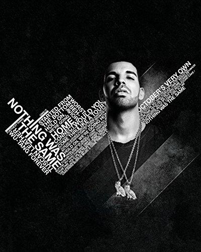 Drake Poster Hip Hop Rap Artist Room Wall Decor High Quality