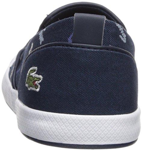 Lacoste Kvinna Lancelle Halka På Sneaker Marinen Logo