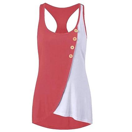 Camisetas sin mangas de mujer, LILICAT® 2018 Moda casual de verano con lazo en