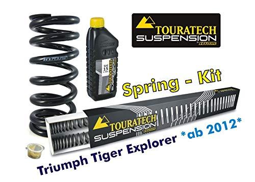 Hyperproスプリング フォーク&ショックアブソーバー用 Triumph Explorer(2012-)   B00BRGC8W4