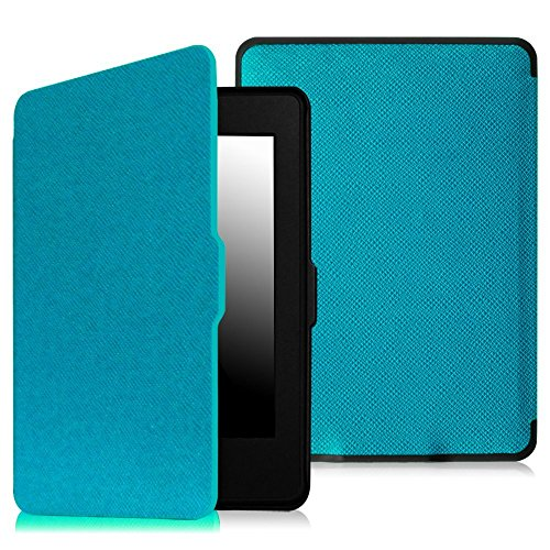 Fintie Slimshell Case for Kindle Paperwhite - Fits All Paperwhite Generations Prior to 2018 (Not Fit All-New Paperwhite 10th Gen), Blue