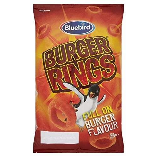 Bluebird Burger Rings 130g -