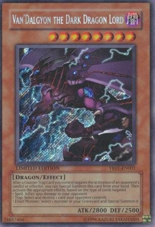 Yu-Gi-Oh! - Van'Dalgyon the Dark Dragon Lord (YR01-EN001) - Yu-Gi-Oh! R Comic Book Promos - Promo Edition - Secret Rare