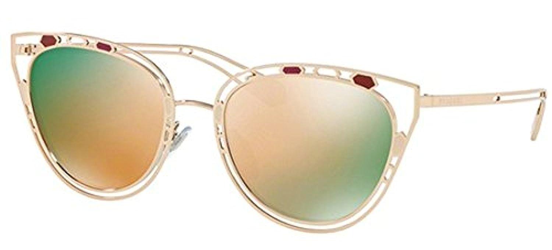 f2b0d0940f0 Amazon.com  Bvlgari BV6104 2023 8G Black Pink   Gold BV6104 Cats Eyes  Sunglasses Lens Cat  Bvlgari  Clothing
